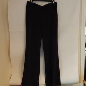 Ann Taylor Size 6 Black Slacks Trousers